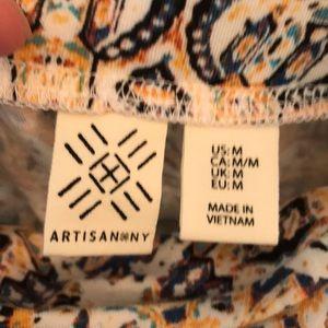 Artisan Ny Skirts - Artisan NY Womens Multicolored Patterned Skirt